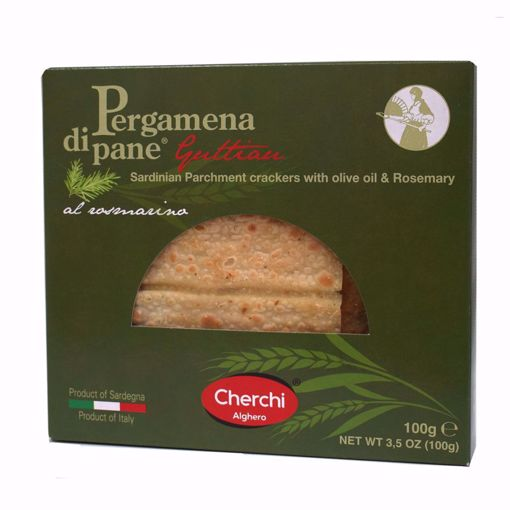 "Picture of ""PARCHMENT"" GUTTIAU BREAD WITH ROSEMARY gr. 100 - CHERCHI"