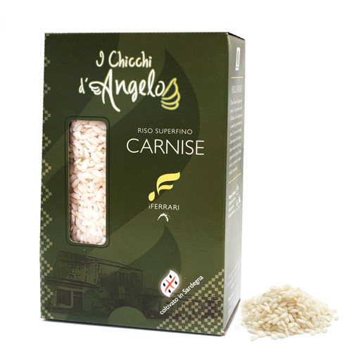 Picture of Sardinian CARNISE SUPERFINO eccelso rice 500g