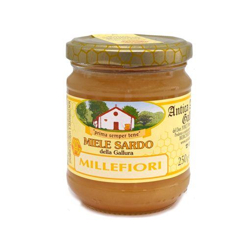 "Picture of SARDINIAN HONEY ""MILLEFIORI"" gr. 250- ANTICA APISTICA GALLURESE"