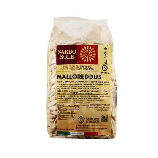 Picture of MALLOREDDUS OF SEMOLINA (100% SARDINIAN WHEAT) gr. 500 - SARDO&SOLE