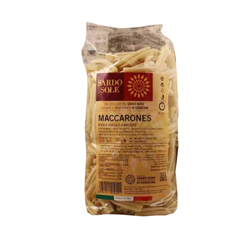Picture of STROZZAPRETI 100% SARDINIAN WHEAT - MACARRONES gr. 500 - SARDO SOLE