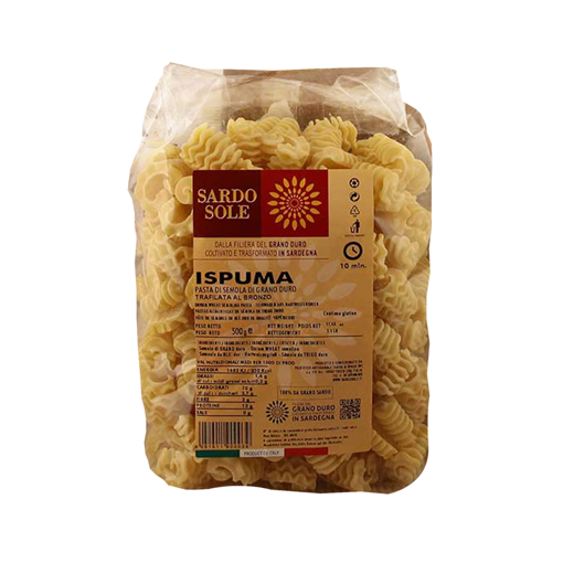 Picture of SARDINIAN WHEAT SPUMONI - ISPUMA gr. 500 - SARDO SOLE