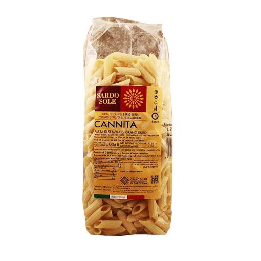 Picture of PENNE 100% SARDINIAN WHEAT - CANNITA gr. 500 - SARDO SOLE