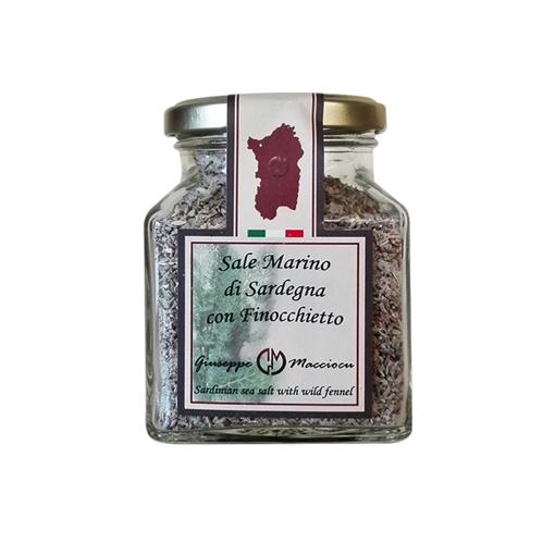 Immagine di SALE MARINO DI SARDEGNA CON FINOCHIETTO gr. 210 - GIUSEPPE MACCIOCU