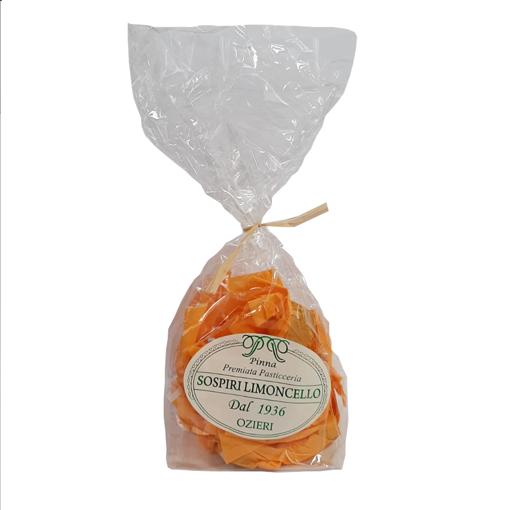 Image sur SOSPIRI AL LIMONCELLO - DOLCI CON PASTA DI MANDORLE E LIMONCELLO gr. 200 -  DOSART