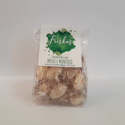 Picture of CANDY WITH HONEY AND MENTHOL GR 100 BAG - ANEDDA