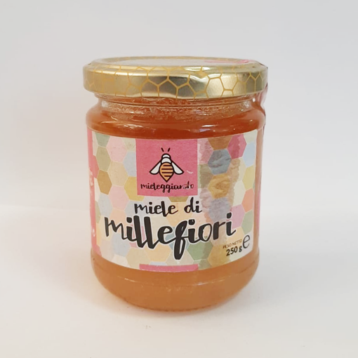 "Picture of SARDINIAN HONEY ""MILLEFIORI"" gr. 250- MIELEGGIANDO"